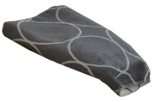 David Fussenegger Blanket Bamboo Circles 150 x 200 cm 2141 charcoal