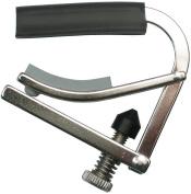 Shubb C5R Standard Capo for Banjo, Mandolin, or Bouzouki - Radiused - Polished Nickel