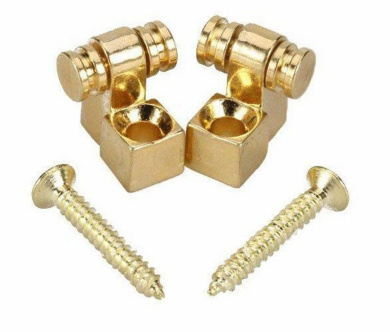 Surfing Guitar Parts Gold Roller String Retainer Trees