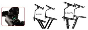 Ultimate Support VSIQ200B 2nd Tier Electronic Keyboard Stand for V-ST and IQ-3000
