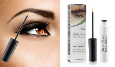 BeauBog TM Eyebrow Enhancer most powerful and advanced 100% Natural eyebrow growth Serum. Promote rapid growth and thickness of your eyebrows!!!