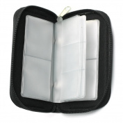 20 SDHC MMC CF Micro SD Memory Card Storage Carrying Pouch Cases Holders Wallet