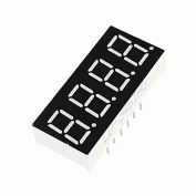 Move & Moving(TM) DIP 4-Digits Tube Display Green LED Common Anode 12Pin