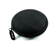 QUMOX M Black Carry Storage Earphone pouch bag For Headset