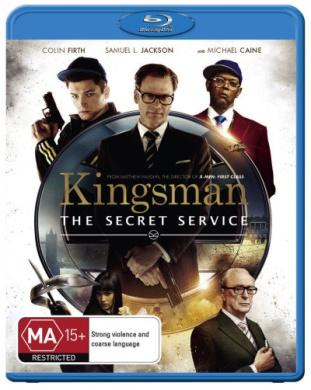 Kingsman The Secret Service Blu-ray 1Disc