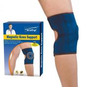 Magnetic Knee Support Black Neoprene Arthritis Strap Brace Gym Sport
