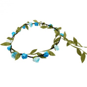 Floral Boho Garland Headband for Festivals & Weddings - 24 Colours and Styles Available