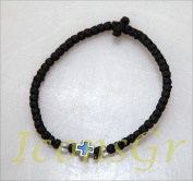 Handmade Christian Orthodox Komboskoini, Prayer Rope 33 Knots Black - 5603