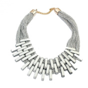 Layla Jewellery New Design Vintage Retro Costume Jewellery Choker Necklace for Ladies Gold
