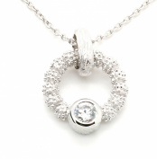 Orphelia Women's Necklace 925 Sterling Silver with White Zirconia ZH - 6024