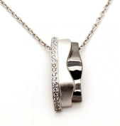 Orphelia Women's Necklace 925 Sterling Silver with White Zirconia ZH - 6042 / 2