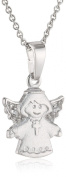 Xaana Children and Teenagers Pendant 925 Sterling Silver Rhodium-Plated White AMZ0261