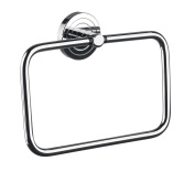 Emco 75500100 Polo Towel Ring, Chrome-Plated
