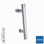 Straight Shower Enclosure Handle | 145mm (14.5cm) Hole to Hole