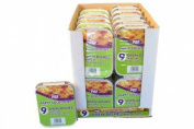 45 x FOIL CONTAINER & LID DISHES No2 - (400ml) 150mm x 120mm x 46mm.
