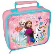 "Spearmark Frozen ""Follow Your Heart"" Rectangle Lunch Bag, Pink"