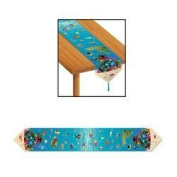 Printed Under The Sea Table Runner Party Accessory (1 count) (1/Pkg) by The Beistle Company