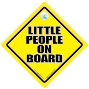 Little People On Board Car Sign, Little People On Board, Baby On Board Sign, Baby on Board, Decal, Bumper Sticker, Baby Sign, Baby Car Sign, Novelty Car Sign, Grandchild on Board, Baby Car Signs, Baby Safety