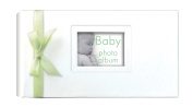 Innova Editions, Memo Album, 50 Pages, Holds 100 13x19cm/7.5x5 Photos, Tender Baby, White