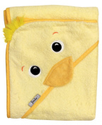 Yellow Duck Hooded Towel, Absorbent Extra Large 101.6 x 76.2 cm , Frenchie Mini Couture