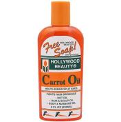 Hollywood Beauty Carrot Oil Repair Split ends liquid bottle 236ml