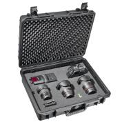 Mantona Large Outdoor Protective Hard Case for Camera- Black