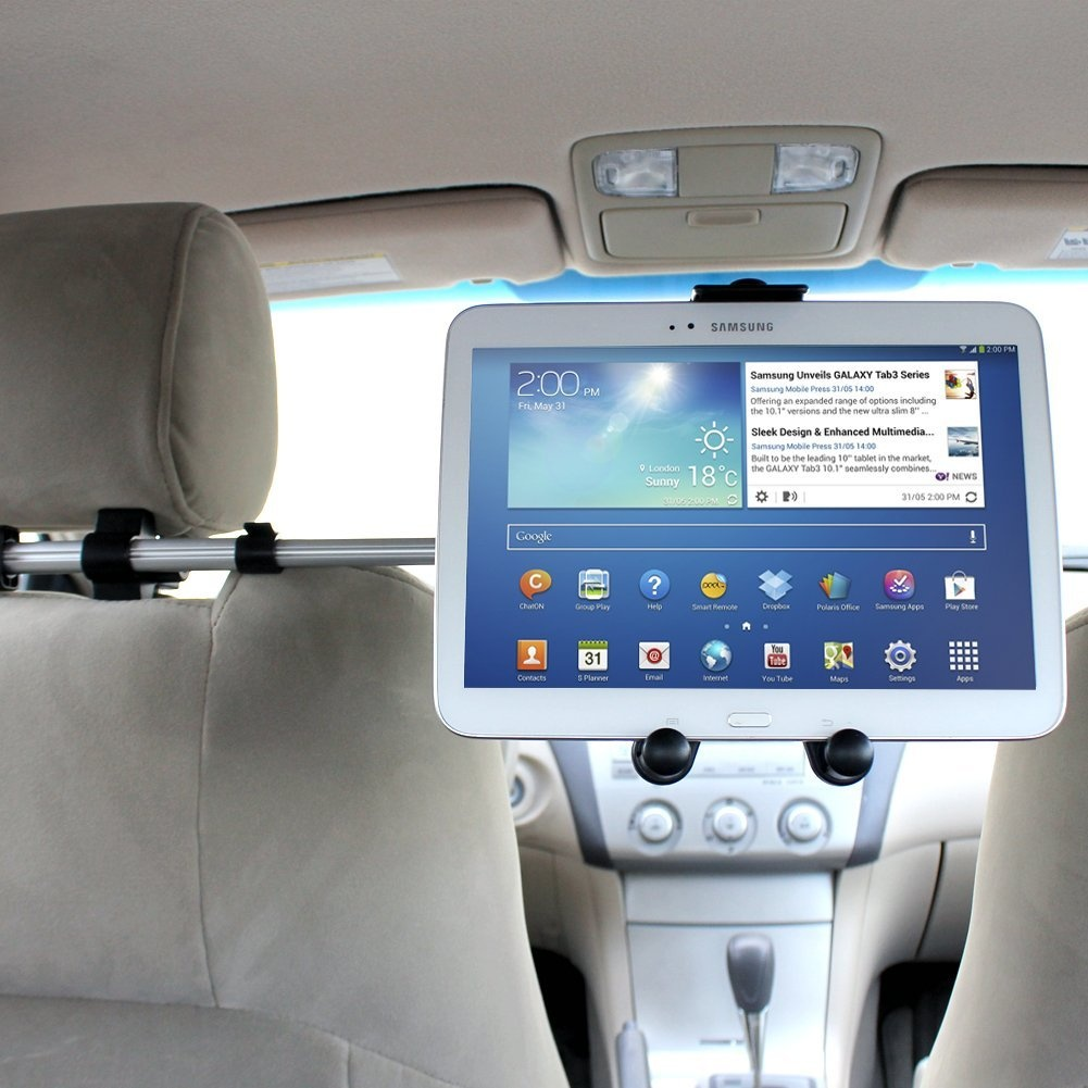 iKross Extension 360 Degrees Rotation Car Mount Tablet Backseat ...