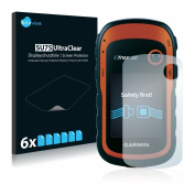 6x Savvies SU75 UltraClear Screen Protector for Garmin eTrex 20