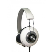 Maxell DJ2 MXH-HP 600 Retro Over-Ear Headphones with Microphone Sensitivity 95 +/- 3dB White