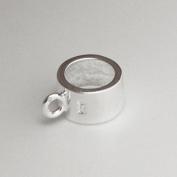 Charm Carrier Dangle/Hanger/Holder/Bail- 925 Solid Sterling Silver European Bead - Pandora style