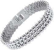 Theia Titanium Beads Chain 22cm Bracelet