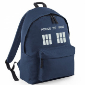 Inspired Police Phone box DOCTOR Embroidery Rucksacks, bags