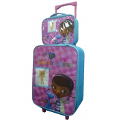 DISNEY CHILDRENS KIDS BOYS GIRLS CABIN TROLLEY CASE SET WHEELED BAG SUITCASE HAND LUGGAGE