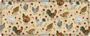 Creative Tops Small Everyday Home Chicken Melamine Tray, Multi-Colour