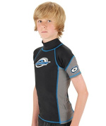 Adult & Child sizes. Soles Up Front Rash Vest with Short sleeves and short neck line. Top quality Lycra with UV sun protection factor 40+. Ideal for surf kayak or beach.