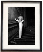 """Barely Dressed"" A Sexy Girl Wears A Long Flowing Dress. Black & White Framed Print. Erotic Art Photography, Black And White Prints"