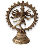 Dancing Shiva Natraj Brass Statue Sculpture
