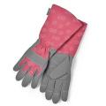 Sophie Conran Raspberry Pink Gauntlet Gardening Gloves