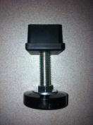M10 x Adjustable Foot & Threaded Insert for 30mm box section - Pack of Four