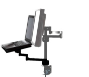 Laptop/iPad Tablet Tray attachment for MDM11S MDM12D LCD Monitor Arm Desk Mount Bracket
