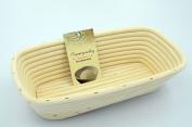 Masterproofing® Rectangle Banneton Basket(1000g dough)-- 30*14.5*8cm