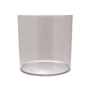 Clear Plastic Cylinder (15cm)