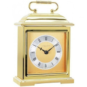 Solid Brass Heavy Metal Traditional Carriage Mantel / Mantle Clock by London Clock Company