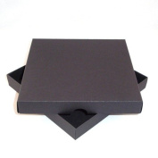 18cm x 18cm Black Greeting Card Boxes X 5 Per Pack, Gift Boxes