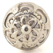 Knobbles and Bobbles Ltd White/Ornate Fitting Knob