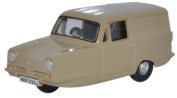 Reliant Regal in honey beige 1:76 scale from Oxford Diecast