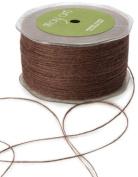 May Arts Ribbon, Brown Burlap String