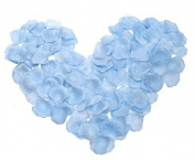 Viskey 300 pcs Petals Confetti for Wedding Decoration, Light Blue