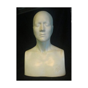 """The Monster Makers Life Size Female """"Alanna Head"""" Head Armature for Mask Making and Clay Busts"""