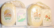 Sarah Michaels Body Soap and Bath Sponge Set - Comes in Freesia or Raspberry or Warm Vanilla or Gardenia